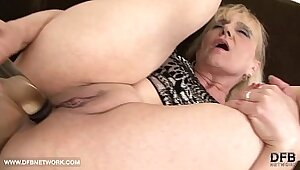 Fully Assfucked Granny Wants A Hard Fat Cock In Her Ass