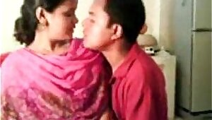 Horny amateur indian chick getting pounded by her boss