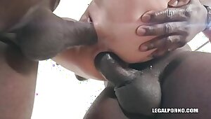 PWG hardcore pw Teen interracial gangbang at Giselle Clear House