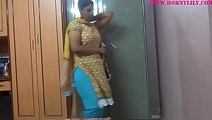 Sexy Footjob From Hot Indian Big Tit Babe Maslured On Cam