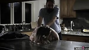 Smutty stepdaughter bangs teen she fucked in the youngvinhree kitchen
