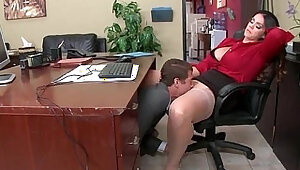 Round Big Tits Girl Alison Tyler Get Banged In Office clip