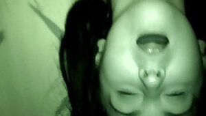 Private voyeur nightvision homemade fucking and cum swallowing sextape