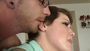 Real anal loving stepsis at home bending over