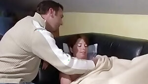 German Step Son Seduce Step Mom to Fuck When Home Alone